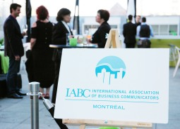 35th anniversary of the establishment of IABC in Montréal